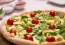 Pizza forgonzola e rucola