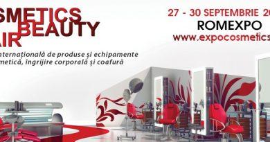 Frumusețe la superlativ!  Cosmetics Beauty Hair – Romexpo, 27 – 30 septembrie 2018