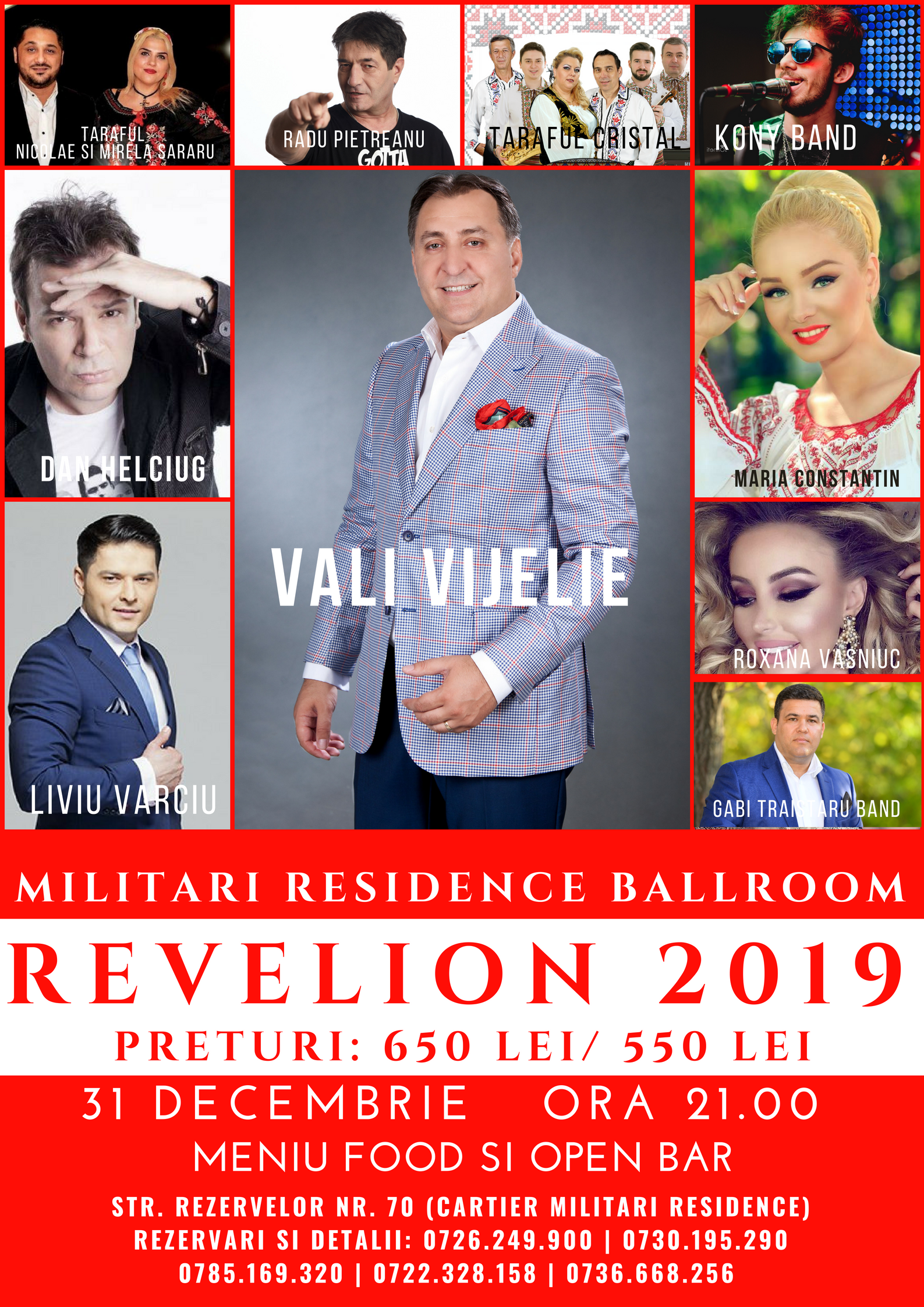 Revelion 2019 la Militari Residence Ballroom