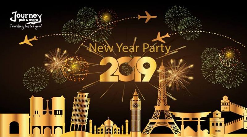 New Year Party 2019 la Journey Pub