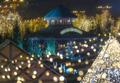 Moș Crăciun ajunge astăzi la Târgul de Crăciun București!