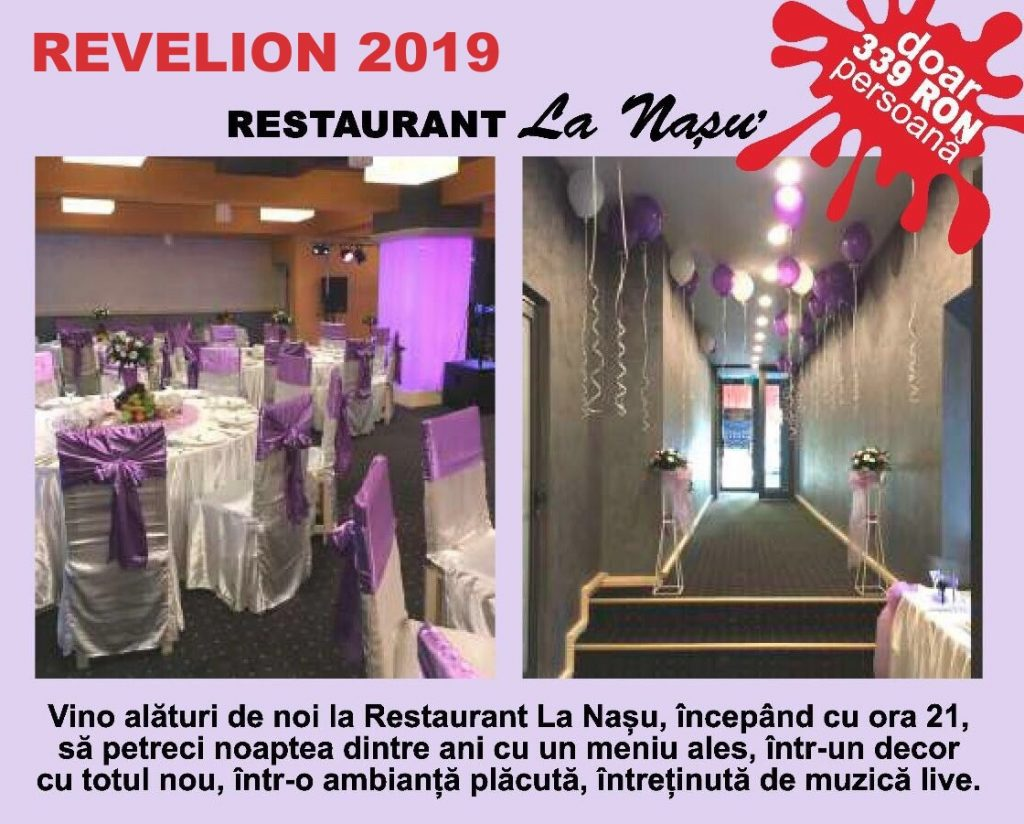"Revelion 2019 ""La Nasu"" ALL INCLUSIVE"