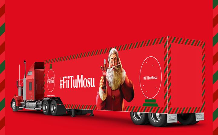 Caravana Coca-Cola 2018 in Bucuresti