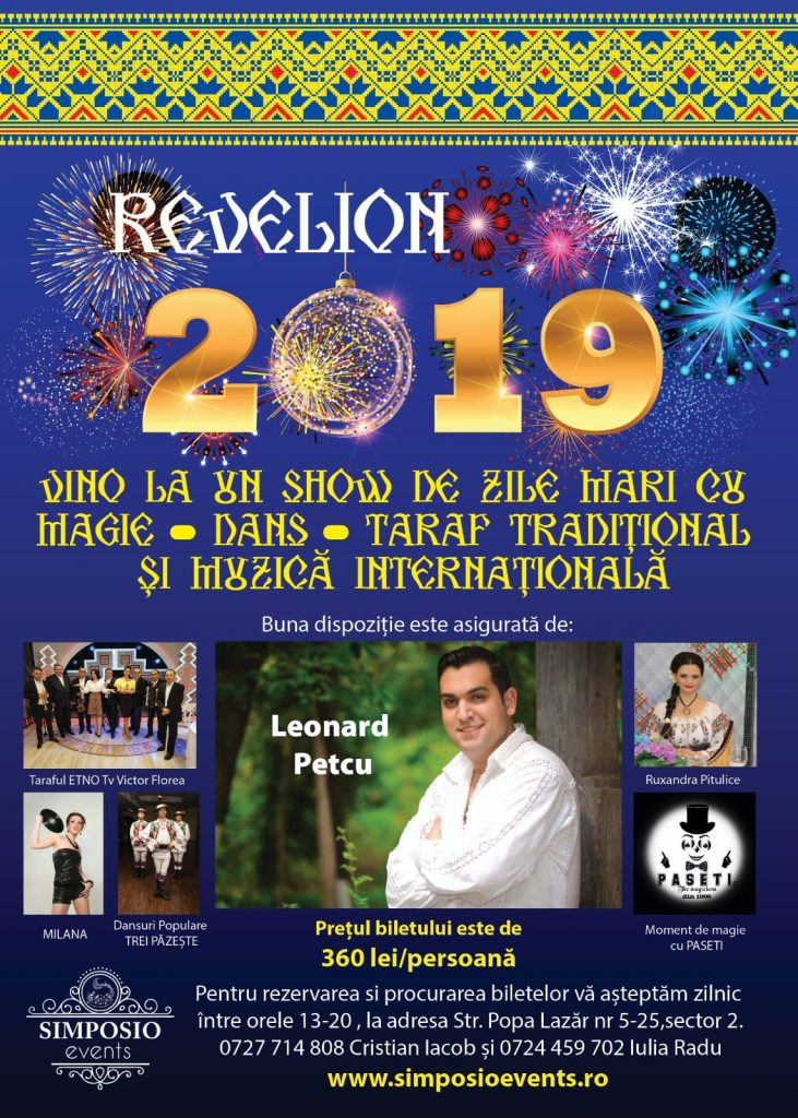 Revelion 2019 la Simposio Events