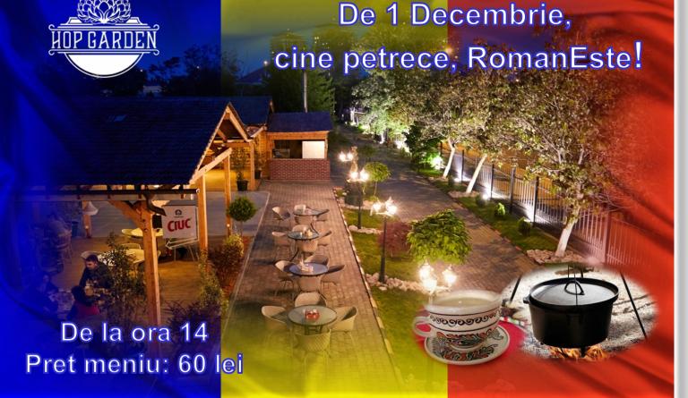 Pe 1 Decembrie, cine petrece, RomanEste!