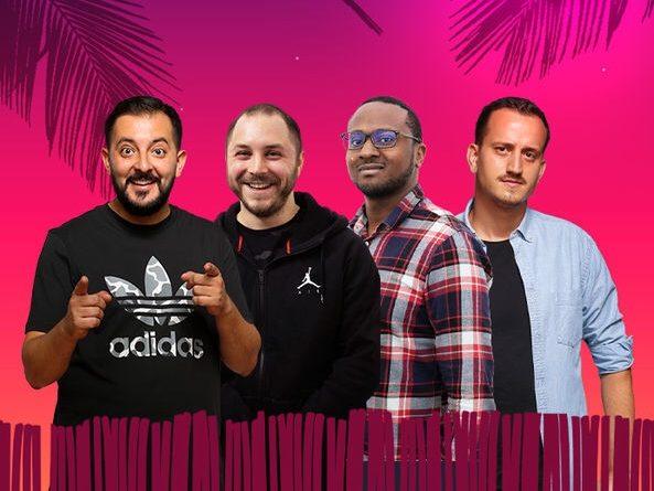 Stand-up comedy cu Gherghe, Bogdan Mălăele, Mukinka și Mane