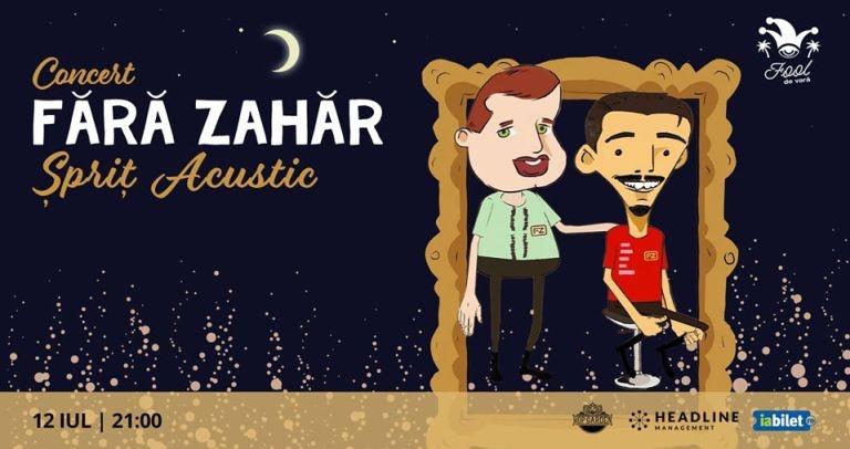 Concert FĂRĂ ZAHĂR – Şpriţ Acustic la Hop Garden
