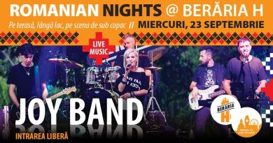 Romanian Nights - #live pe terasă cu JOY Band