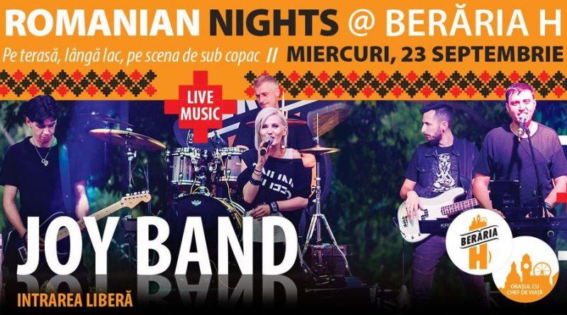 Romanian Nights - #live pe terasă cu JOY Band