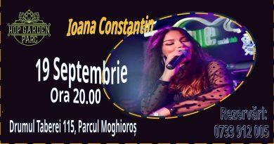 Saturday Live Music cu Ioana Constantin la Hop Garden Parc