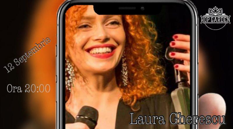 12 septembrie: Muzica live la Hop Garden, cu Laura Gherescu