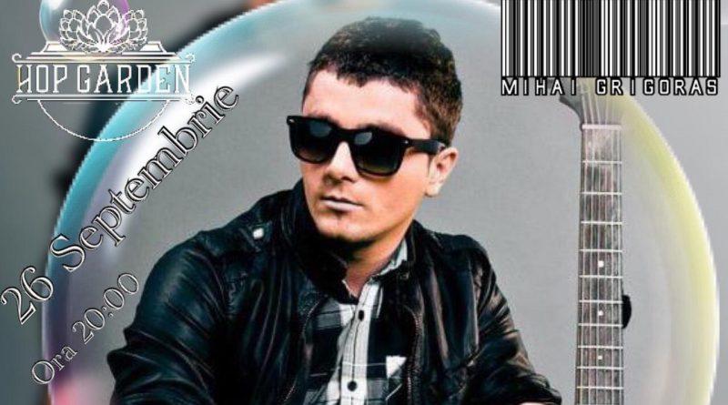 Saturday live music cu Mihai Grigoras pe terasa Hop Garden