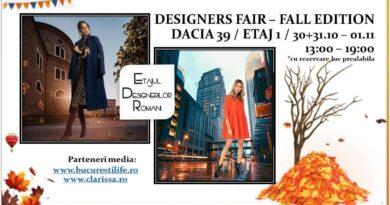 Designers Fair – Fall Edition